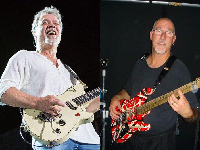 Eddie Van Halen and Tom Weber