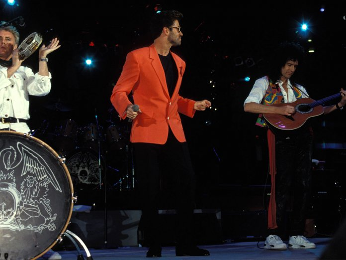 George Michael and Queen