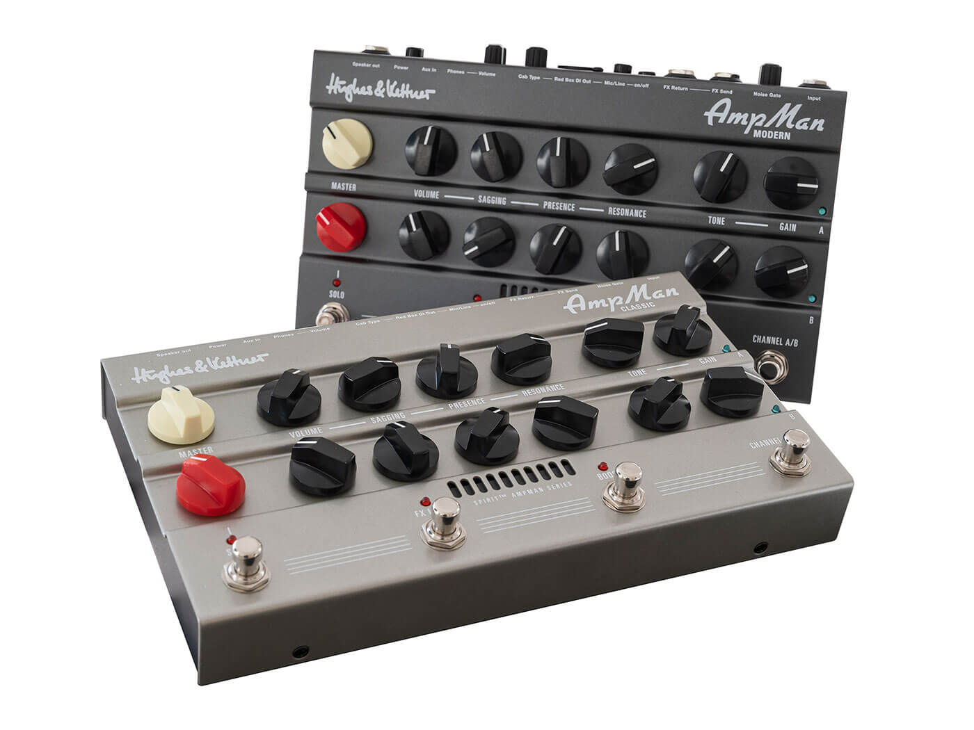 Hughes and Kettner's AmpMan Classic and Modern