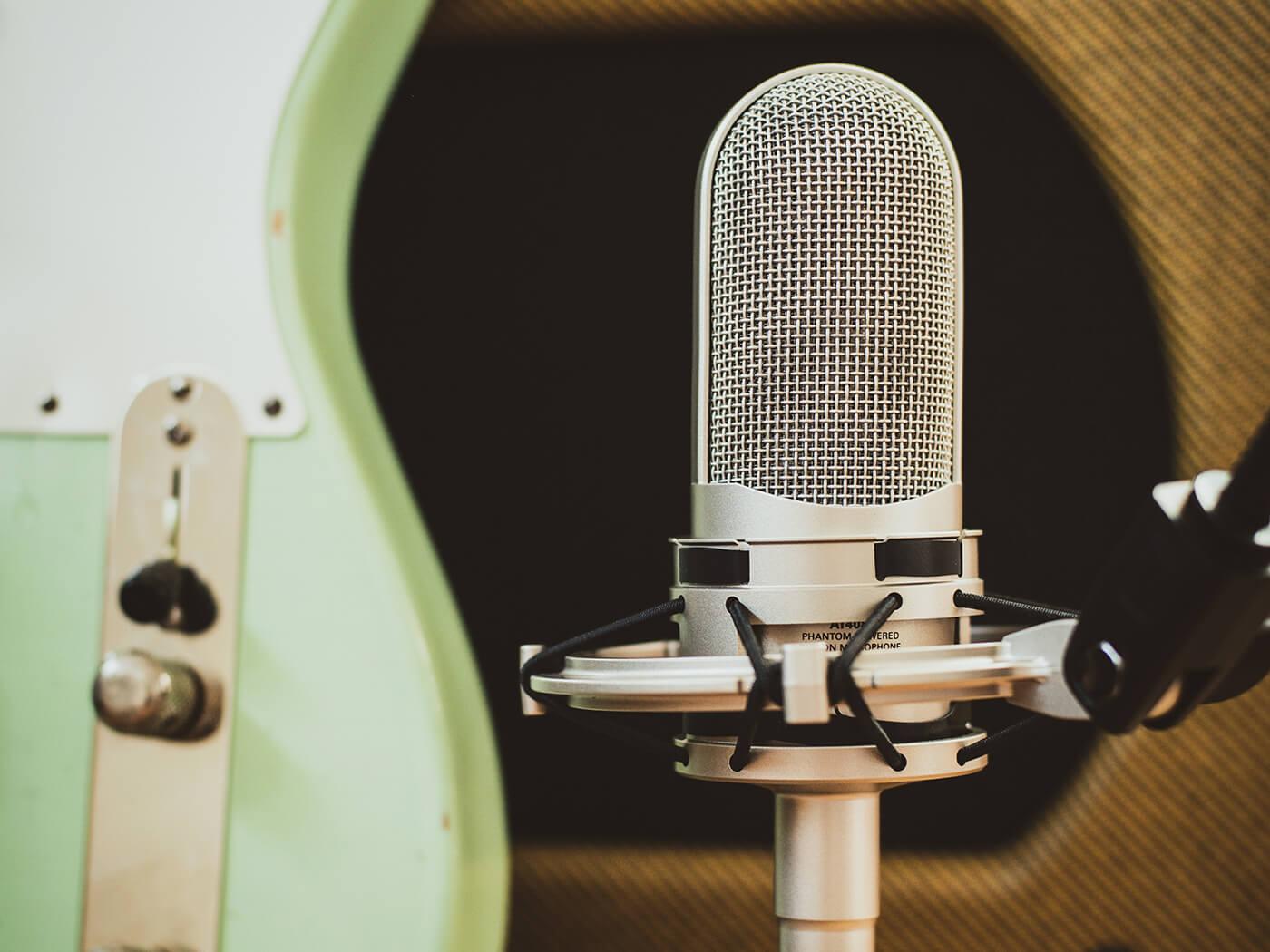 Guitar Recording FAQ - Audio Technica Ribbon Mic