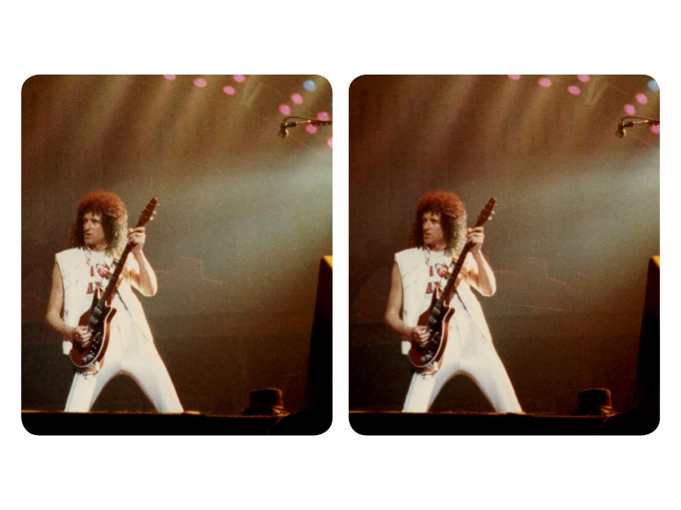 Photo from Brian May's Queen In 3-D