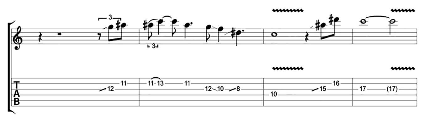 How to play blues like Buddy Guy Lick 1