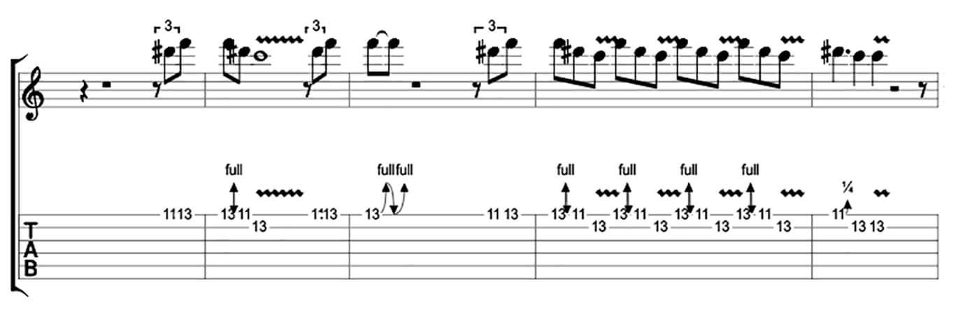 How to play blues like Buddy Guy Lick 2