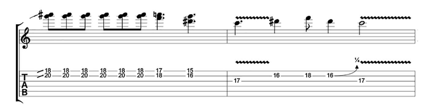 How to play blues like Buddy Guy Lick 3