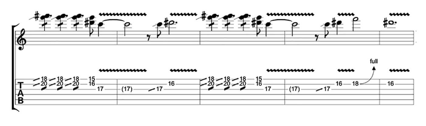 How to play blues like Buddy Guy Lick 4