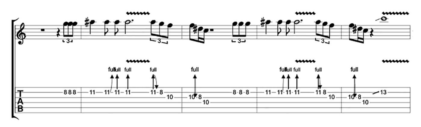 How to play blues like Buddy Guy Lick 5
