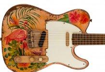 Fender Custom Shop Flamingo Sunset Telecaster