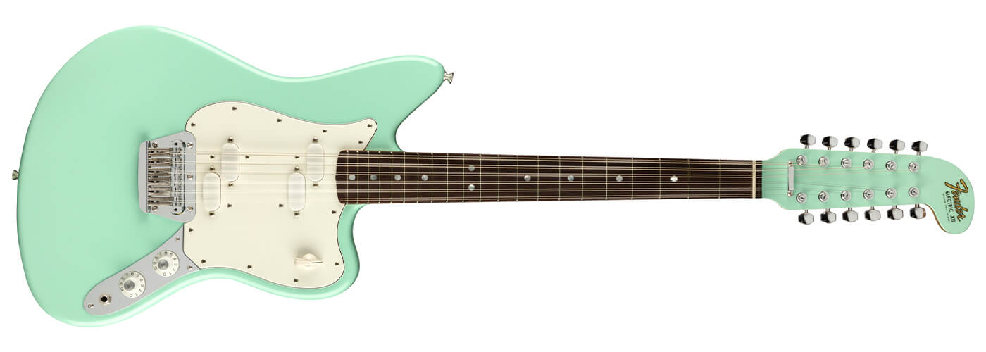 Fender Surf Green With Envy: Carlos Lopez