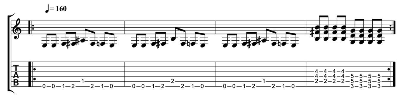 Five minutes to playing like Kurt Cobain - Chromatic Riffs