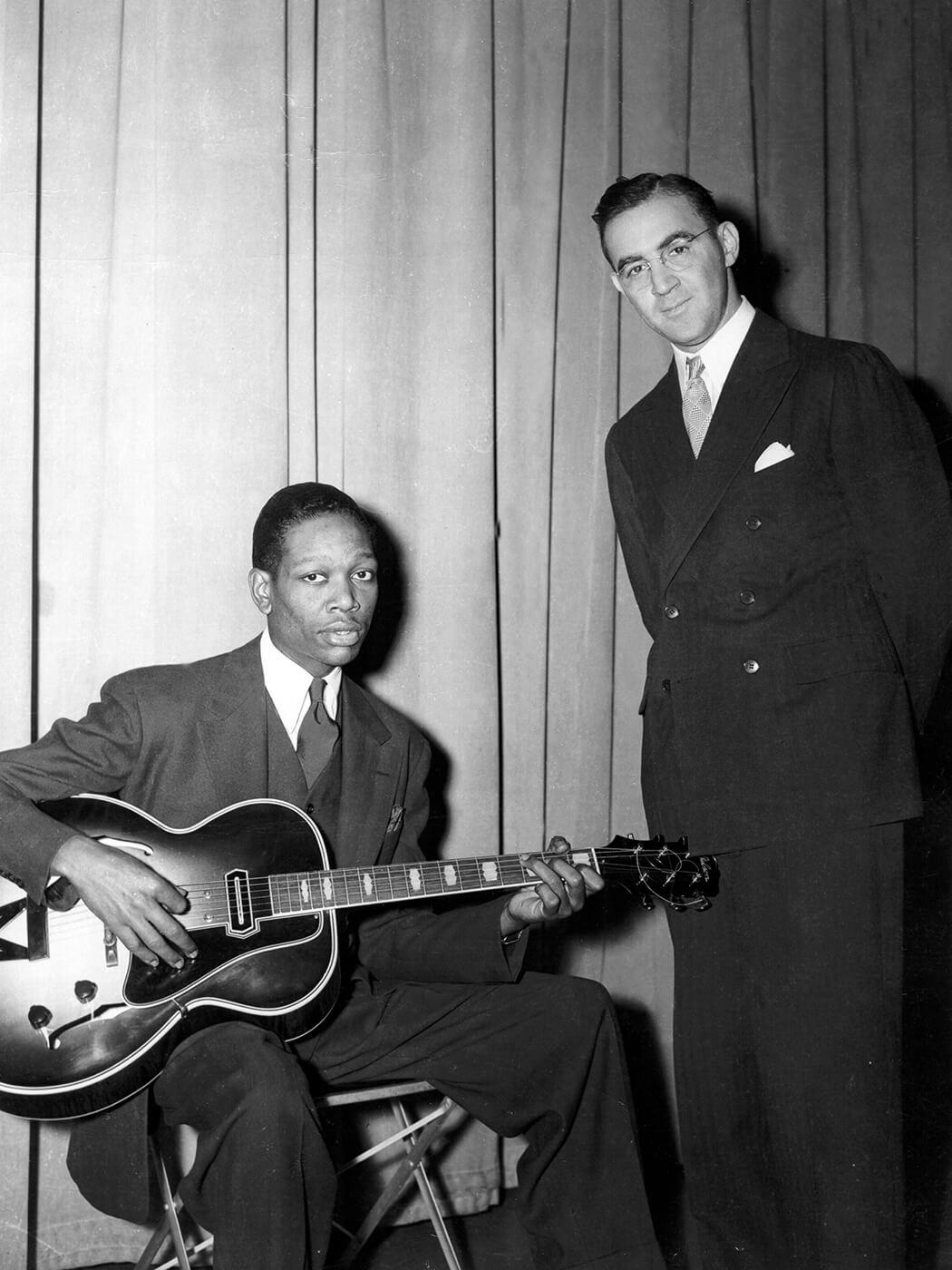 Charlie Christian and Benny Goodman