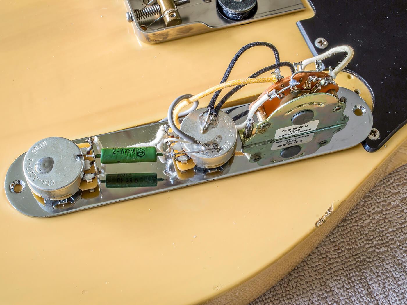 DIY Workshop Telecaster Bridge Upgrade