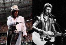 Alice Cooper, David Bowie