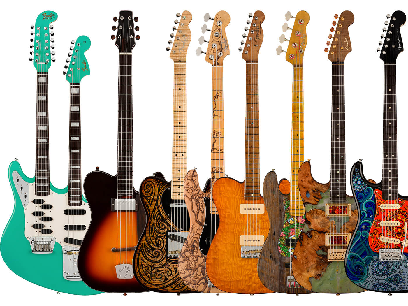The Fender Custom Shop unveils the 2021 Prestige collection | Guitar.com |  All Things Guitar