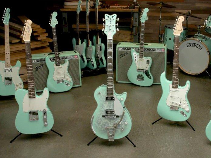 Fender Custom Shop Surf Green