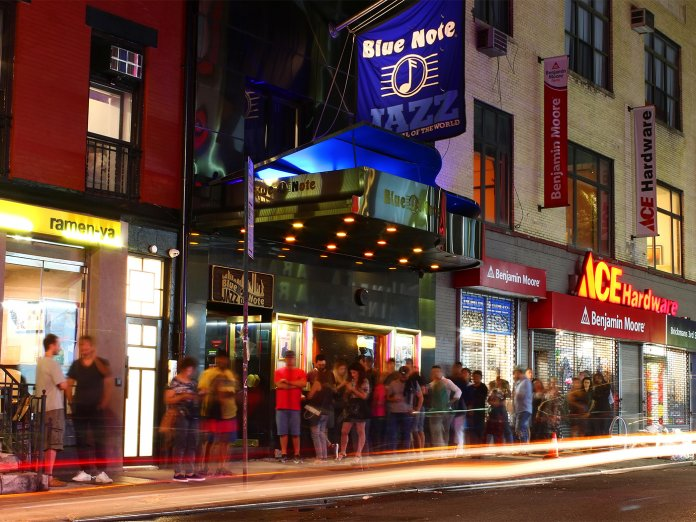 The Blue Note in New York