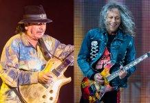 Carlos Santana, Kirk Hammett