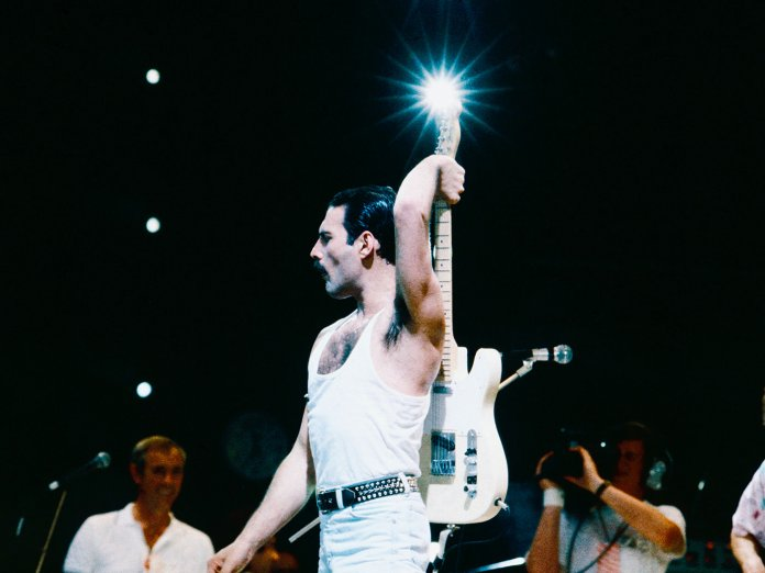 Queen at Live Aid
