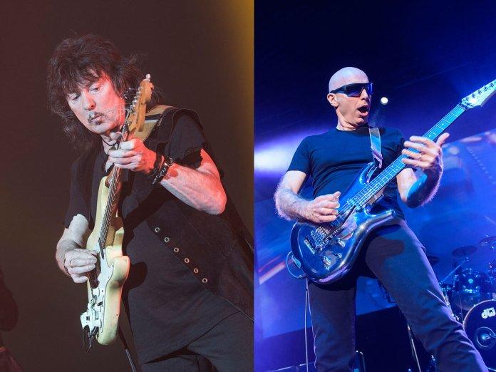Ritchie Blackmore and Joe Satriani