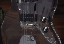 Fender Custom Shop Scott Buehl Jazzmaster Acrylic