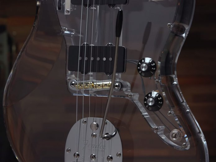 Fender Custom Shop Scott Buehl Jazzmaster Acrylic