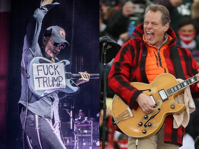 Tom Morello and Ted Nugent