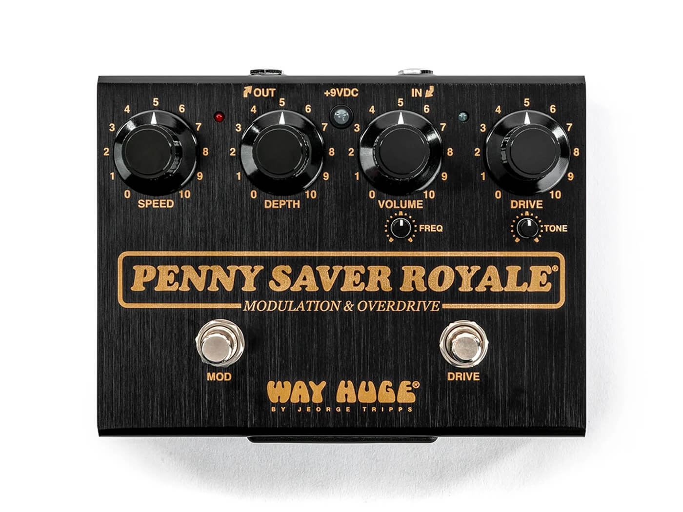 Joe Bonamassa teams up with Way Huge on the Penny Saver Royale OD/chorus pedal