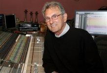 Al Schmitt in the studio