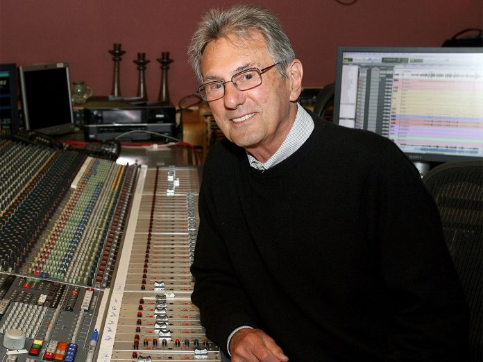 Al Schmitt in the studio