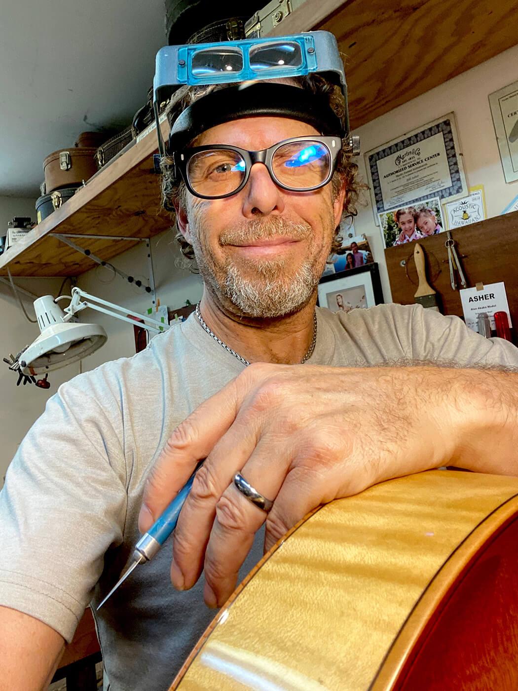 Bill Asher of Asher Guitars