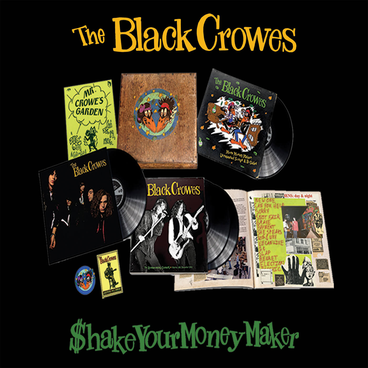 Black Crowes - shake Your Money Maker 30th Anniversary