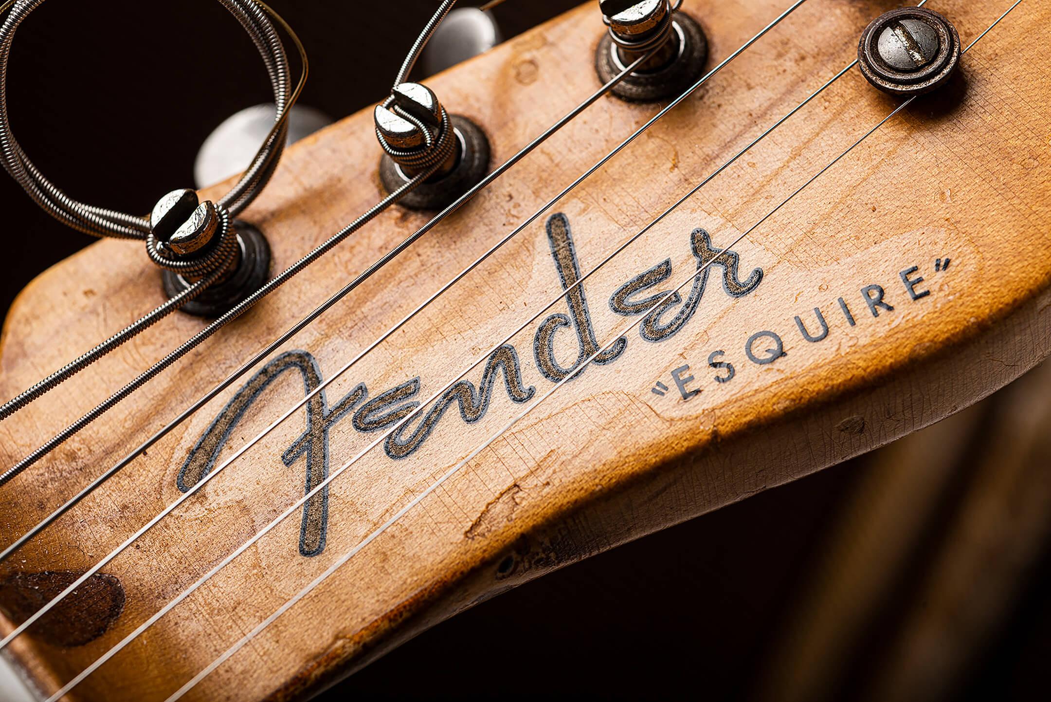 Eddie Tatton's 1952 Fender Esquire Blackguard Telecaster