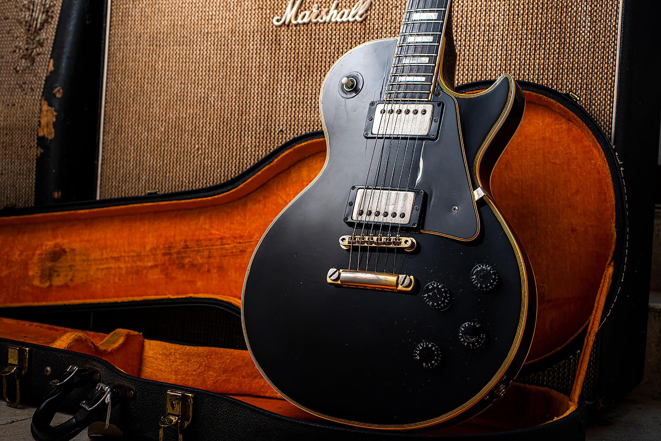 Eddie Tatton's 1971 Gibson Les Paul Custom