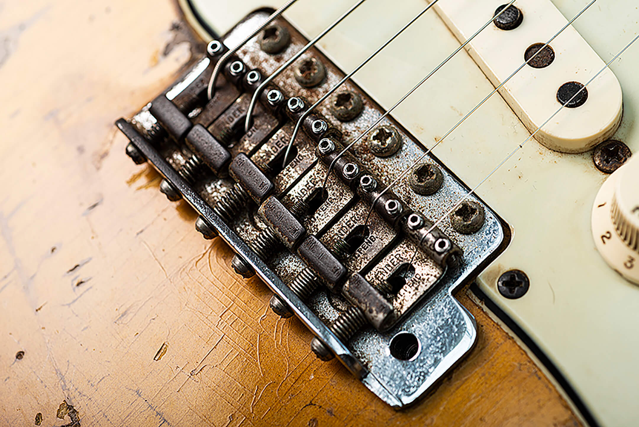 Eddie Tatton's 1963 Fender Stratocaster