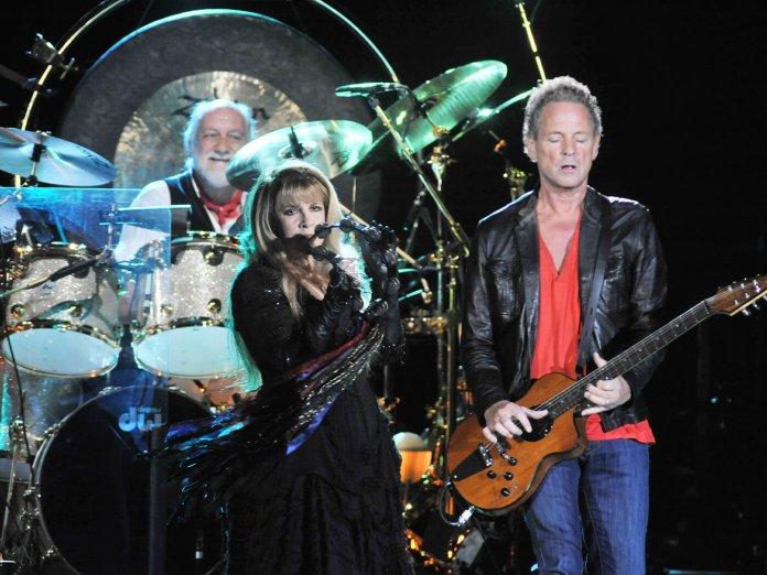Fleetwood Mac onstage