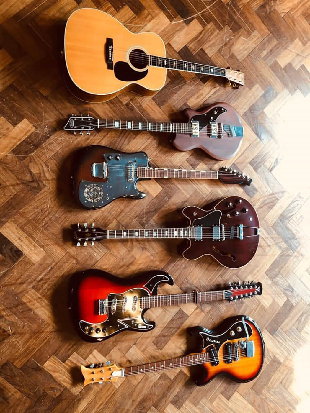 James Skelly's Guitars