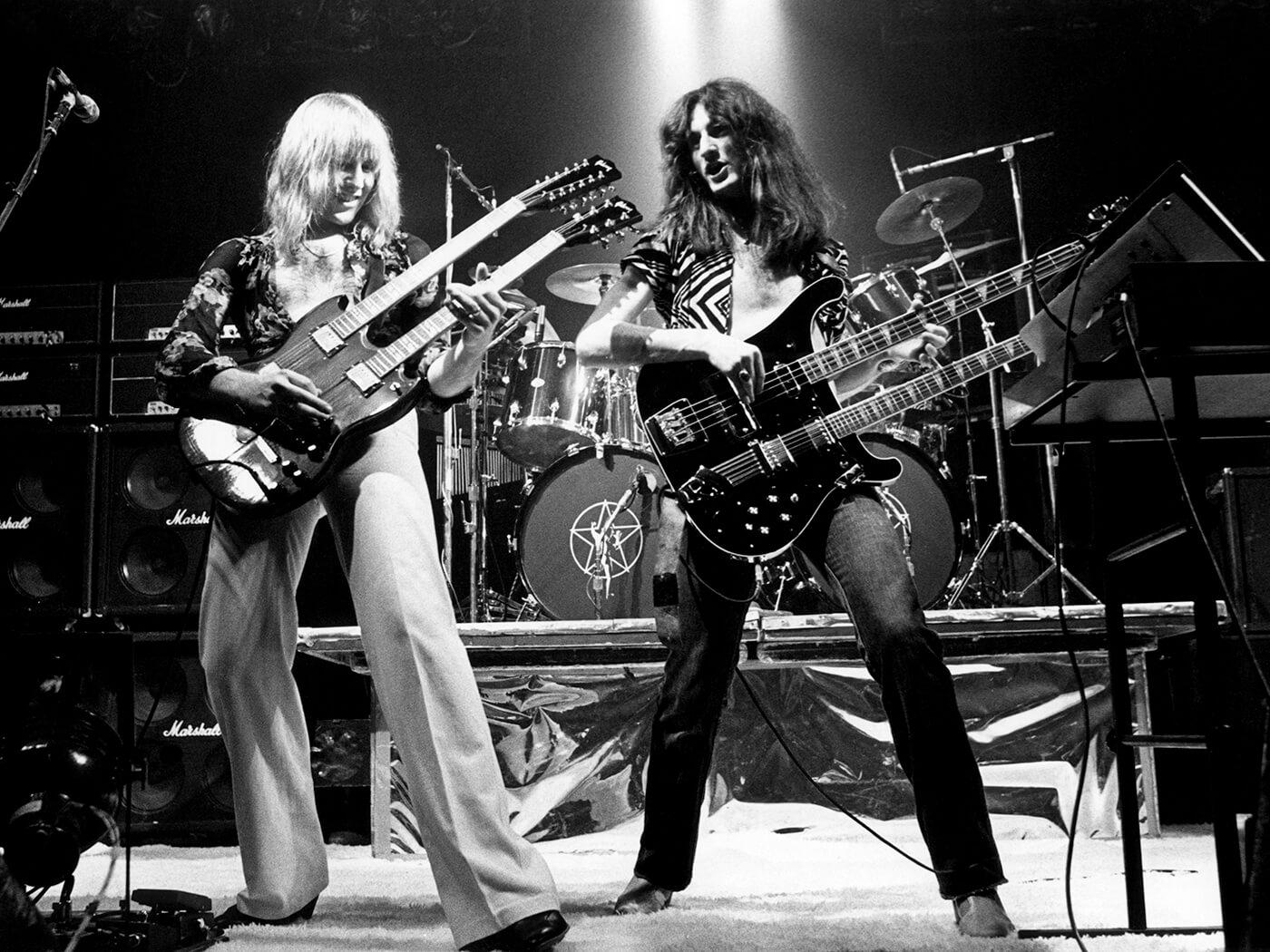 Rush in 1977