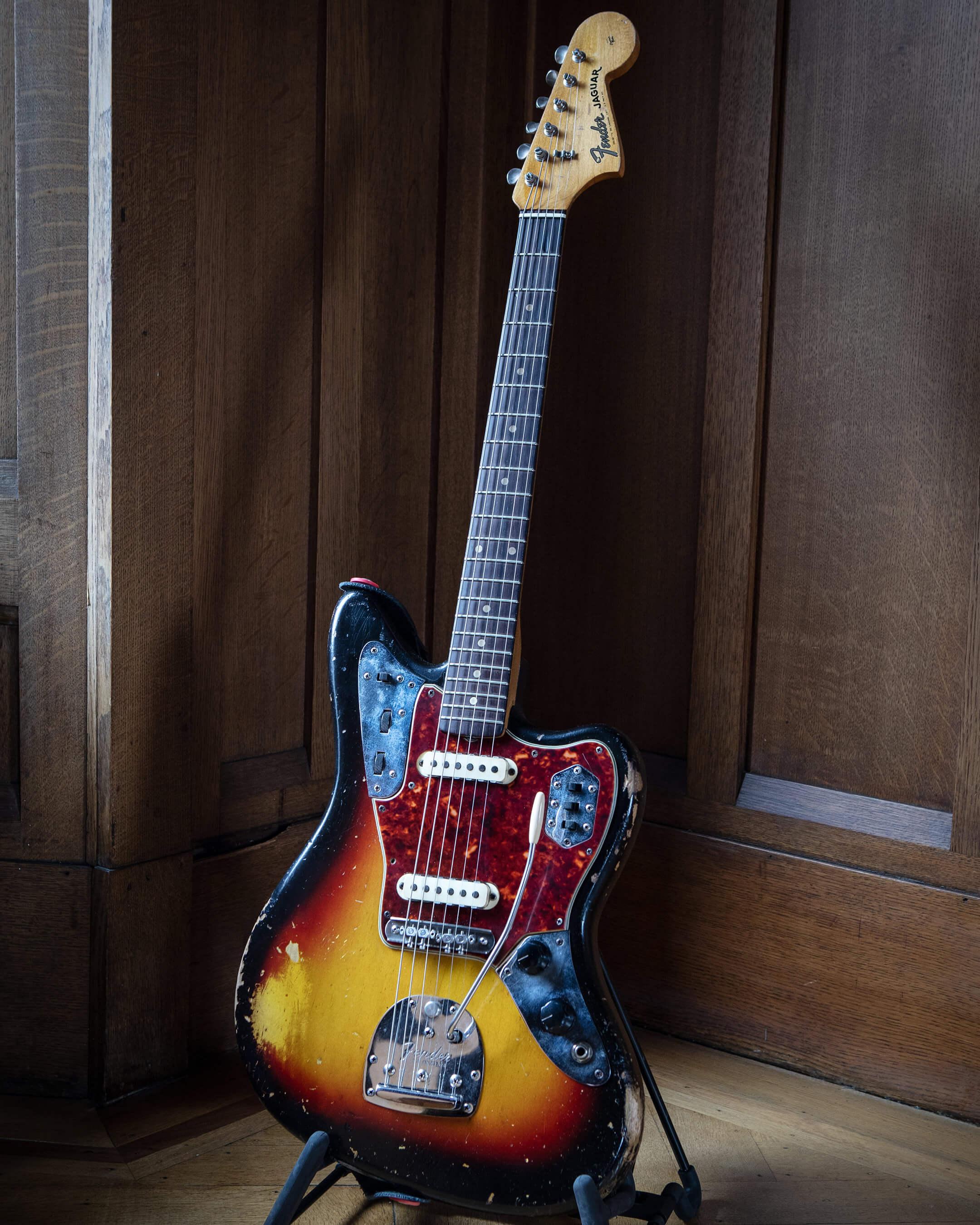 Teenage Fanclub's Fender 1963 Sunburst Jaguar