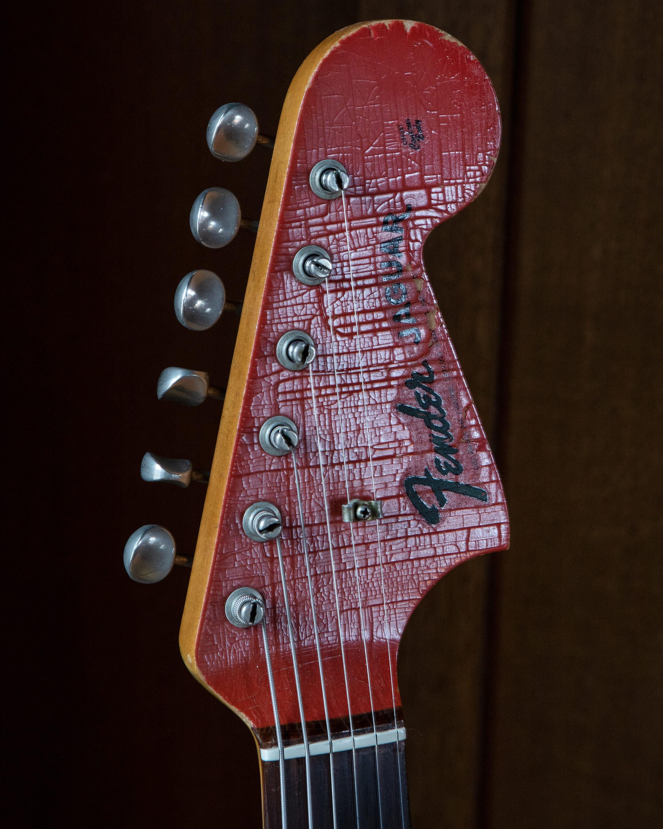 Teenage Fanclub's Fender Fiesta Red Jaguar