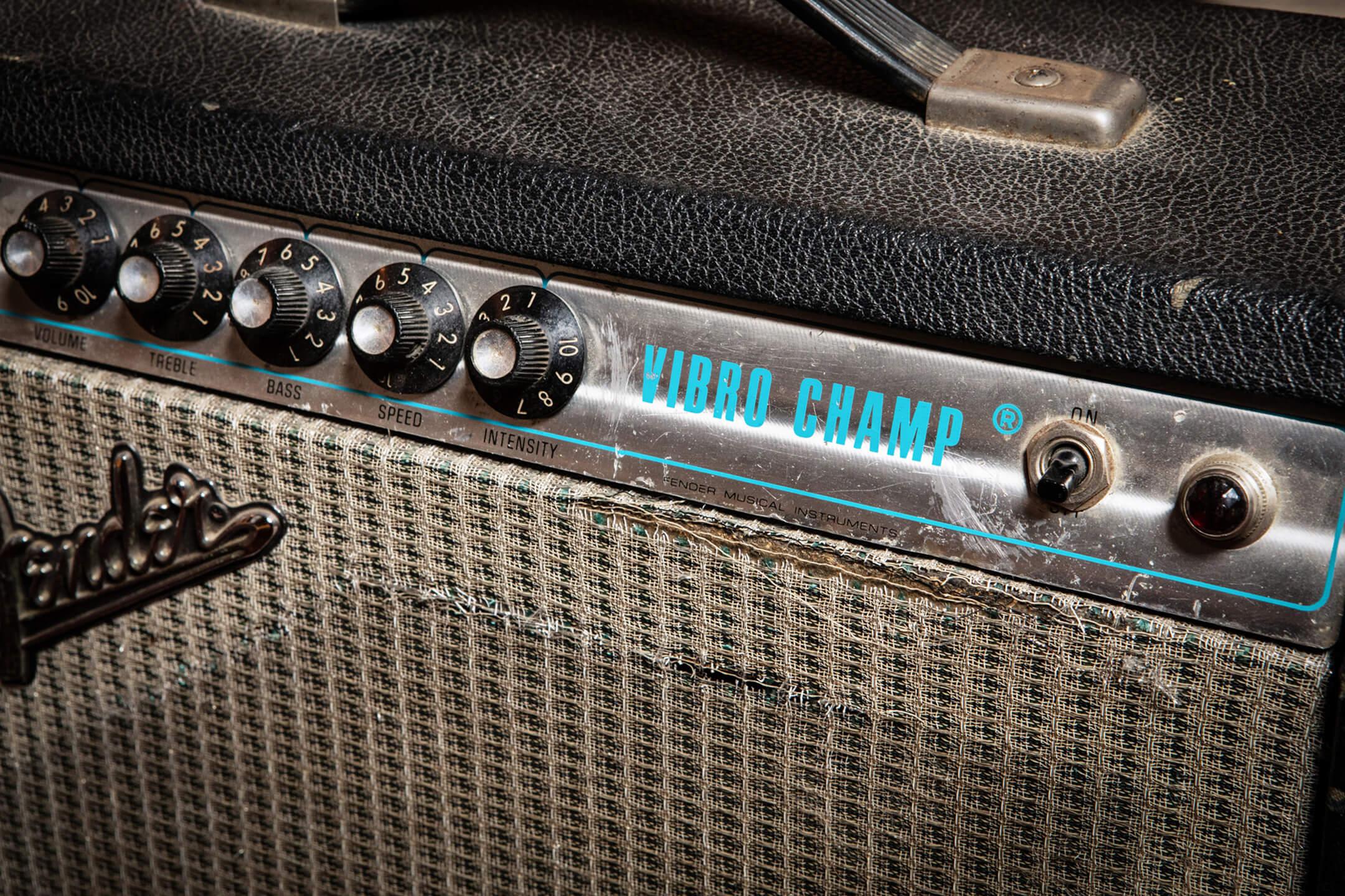Teenage Fanclub's Fender Vibro Champ