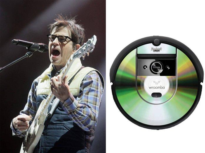 Weezer's roomba