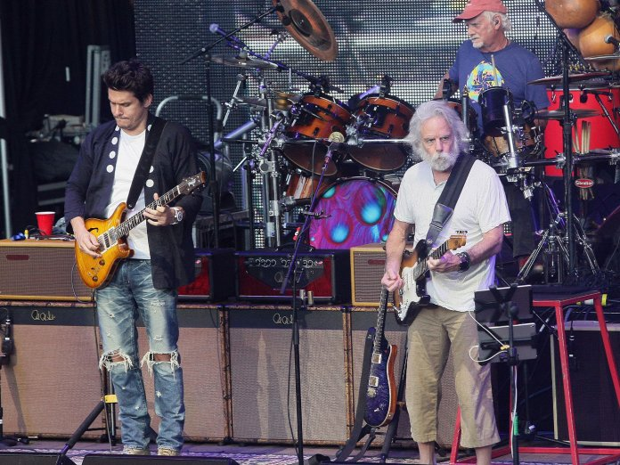 Dead And Company onstage