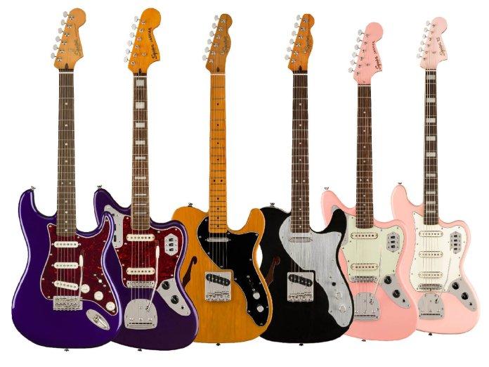 Fender Special Run Squier Andertons / CME exclusives
