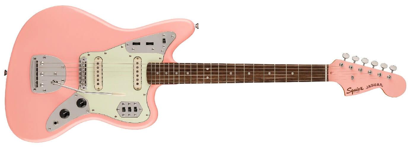 Squier CV FSR Shell Pink Jaguar