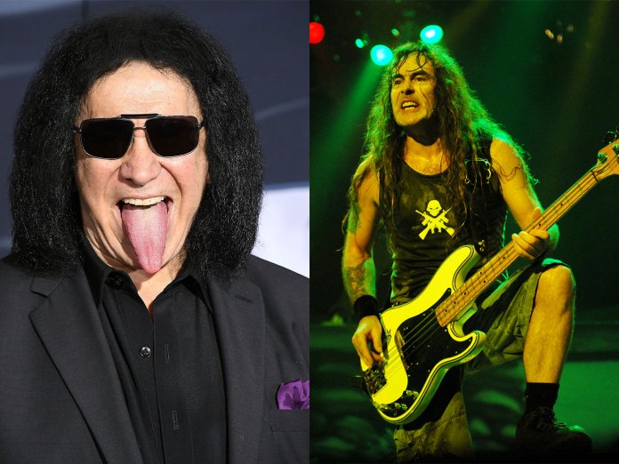 Gene Simmons / Iron Maiden