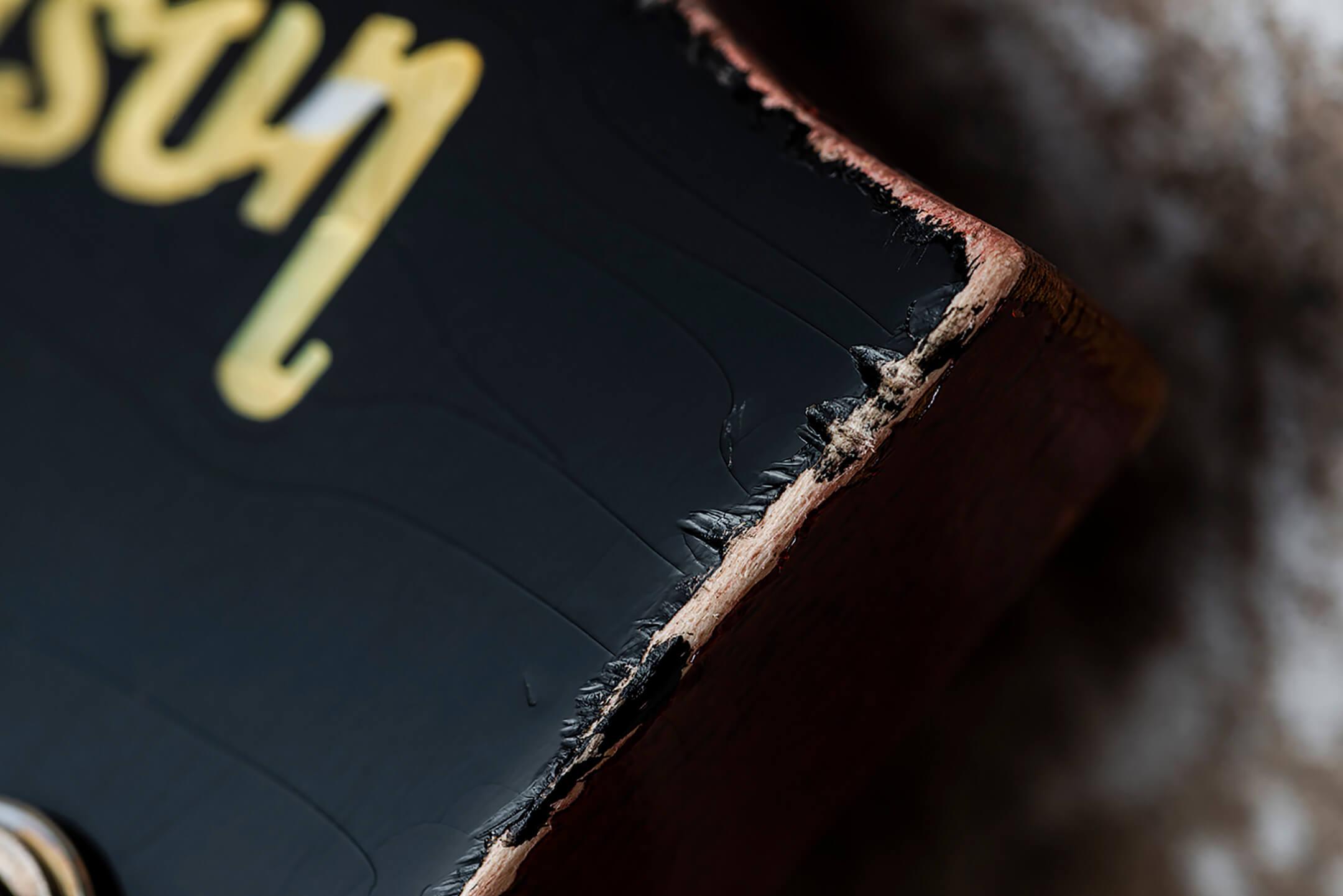 Gibson Murphy Lab Cherry Tea Burst Les Paul Light Aged
