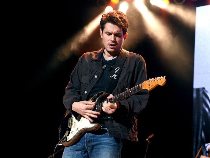 John Mayer onstage
