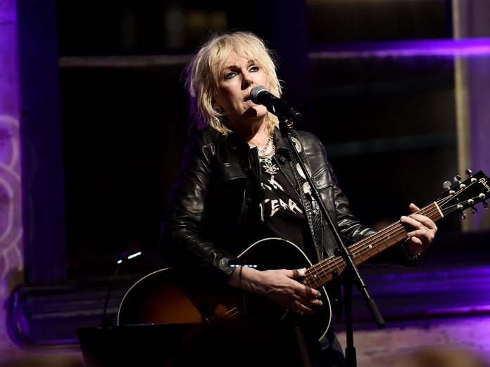 Lucinda Williams onstage