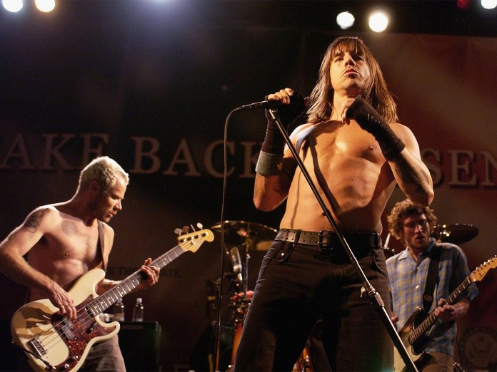 Red Hot Chili Peppers onstage
