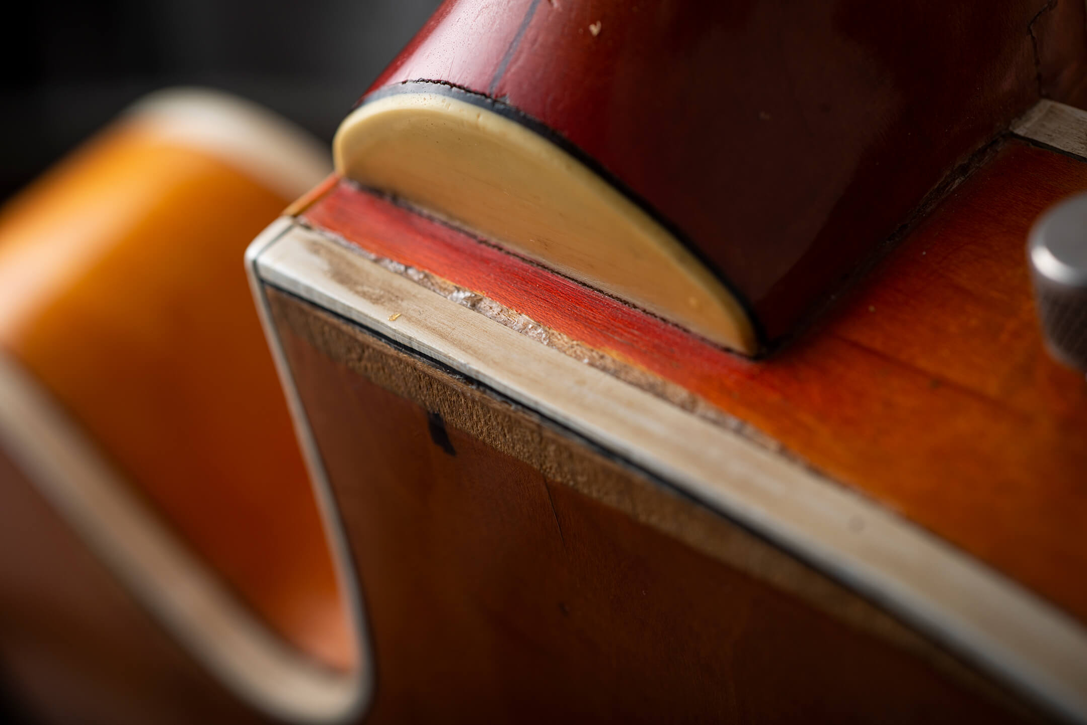 Vintage Gretsch Neck Joint