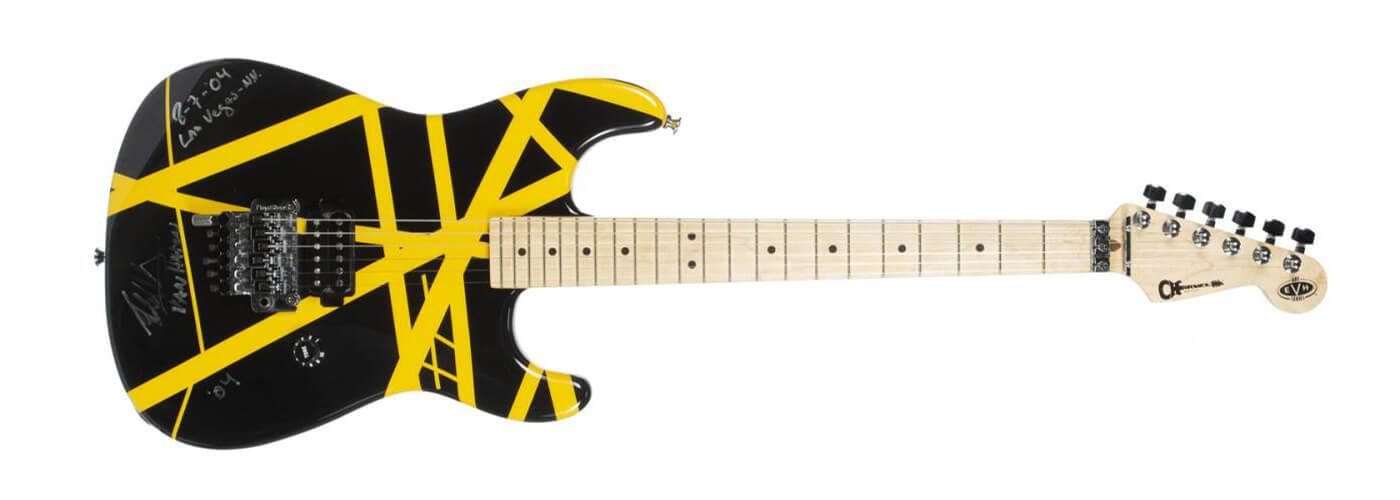 Eddie Van Halen Auction Guitar